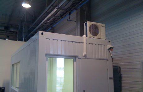 Klimatizace, realizace - 1 průmysl